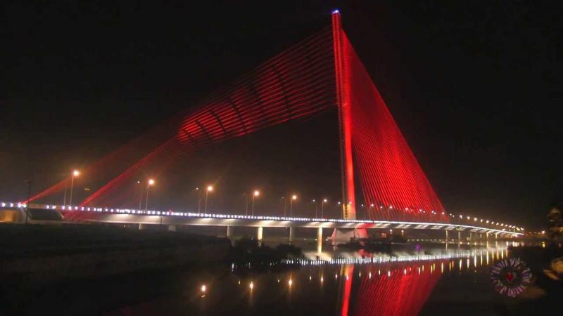 Cầu Trần Thị Lý - Cánh buồm nghệ thuật