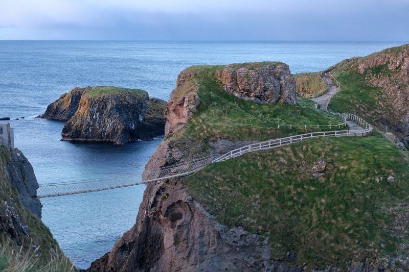 Cầu treo Carrick-a-Rede ở Bắc Ireland