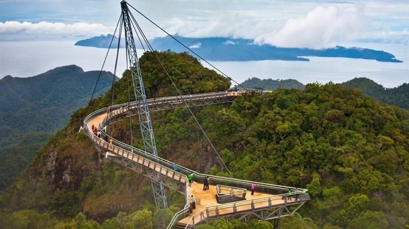 Cầu treo Langkawi Sky