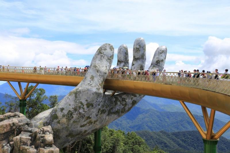 Golden Bridge Sun World Ba Na Hills