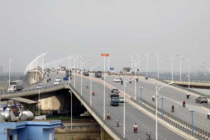 Cây cầu có nhịp đúc hẫng dài nhất Việt Nam