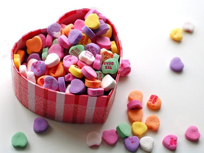 Kẹo tình yêu này sẽ rất đắt hàng dịp Valentine