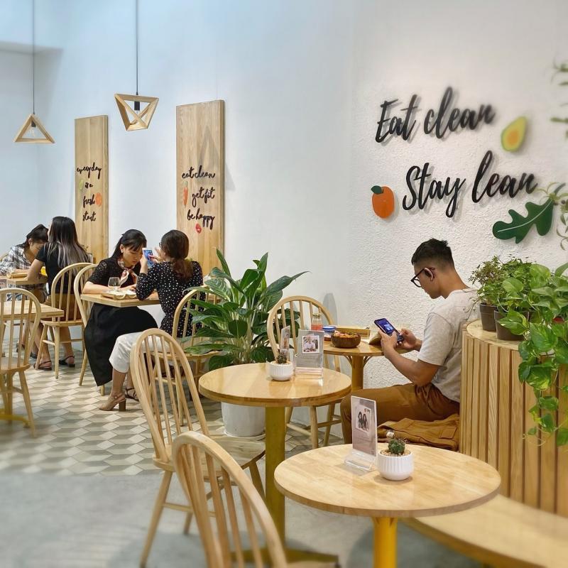 CeLa - Healthy Fastfood không gian quán