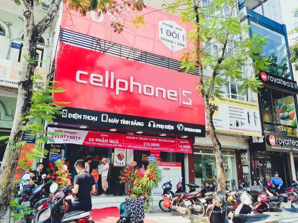 CellphoneS - Cửa Hàng Điện Thoại, Tablet, Laptop, Phụ Kiện Chính Hãng Giá Tốt