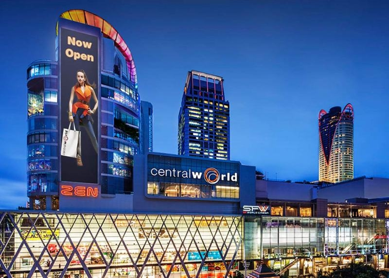 Central World, Thái Lan