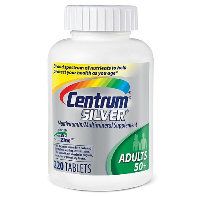 Centrum Silver Multivitamin for adults 50+