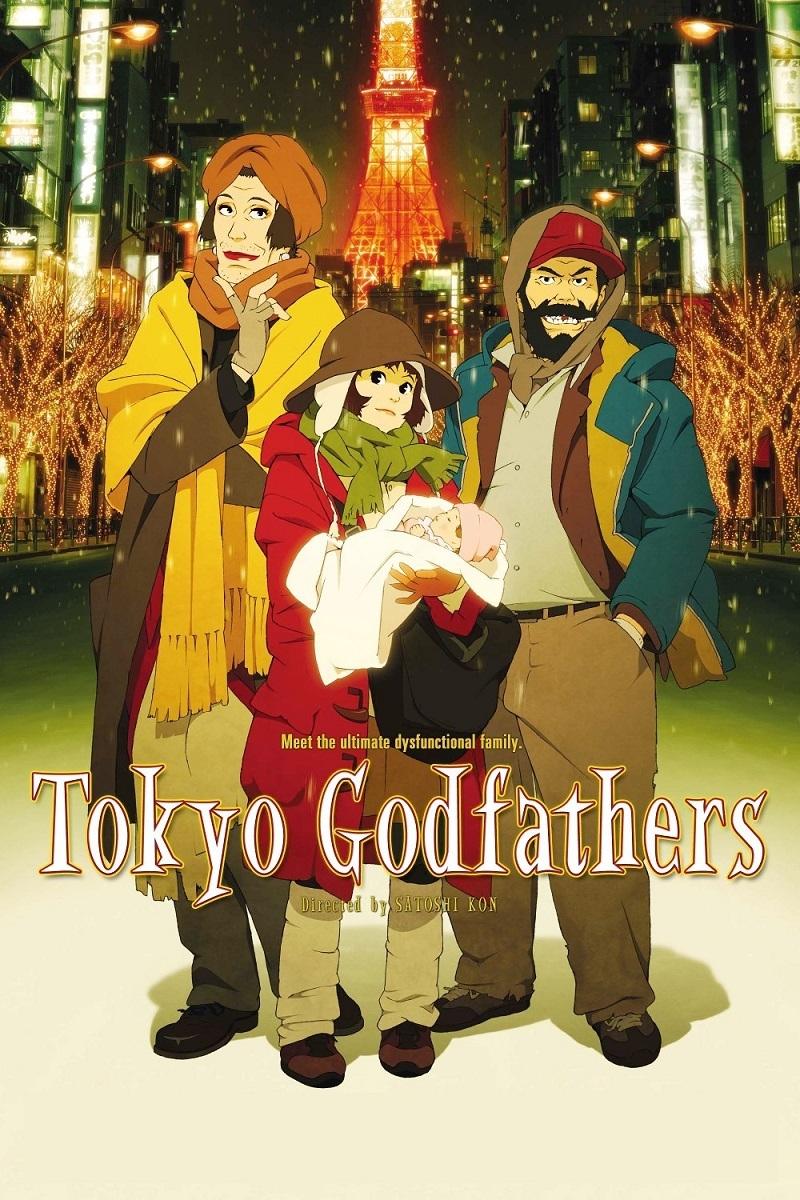 Cha đỡ đầu ở Tokyo - Tokyo Godfathers (2003)
