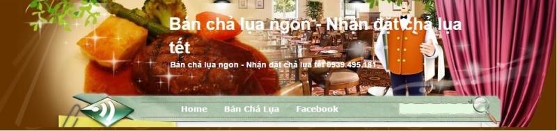 Website chả lụa Hồng Ngọc