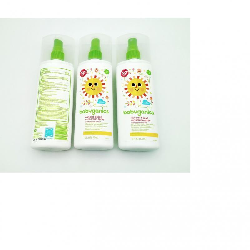 Chai xịt chống nắng Babyganics Mineral-Based Sunscreen Spray SPF 50+