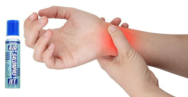 Giảm nhanh các triệu chứng đau nhức nhờ chai xịt giảm đau Air Salonpas Jet