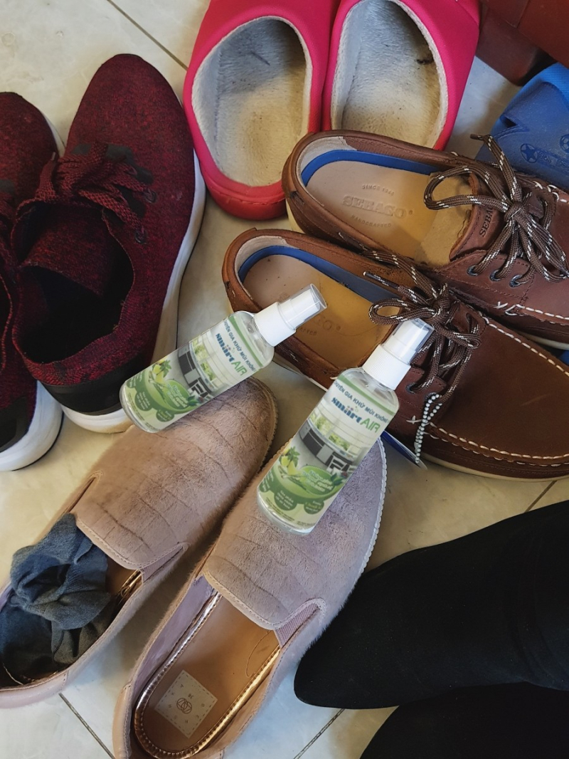 Chai xịt khử mùi giày Smart Air