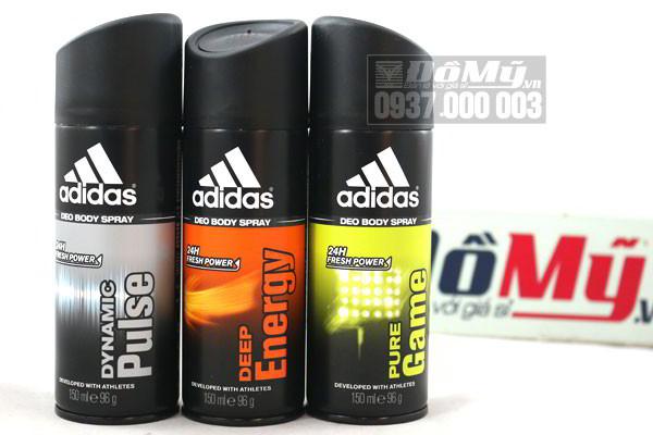 Xịt khử mùi toàn thân Adidas