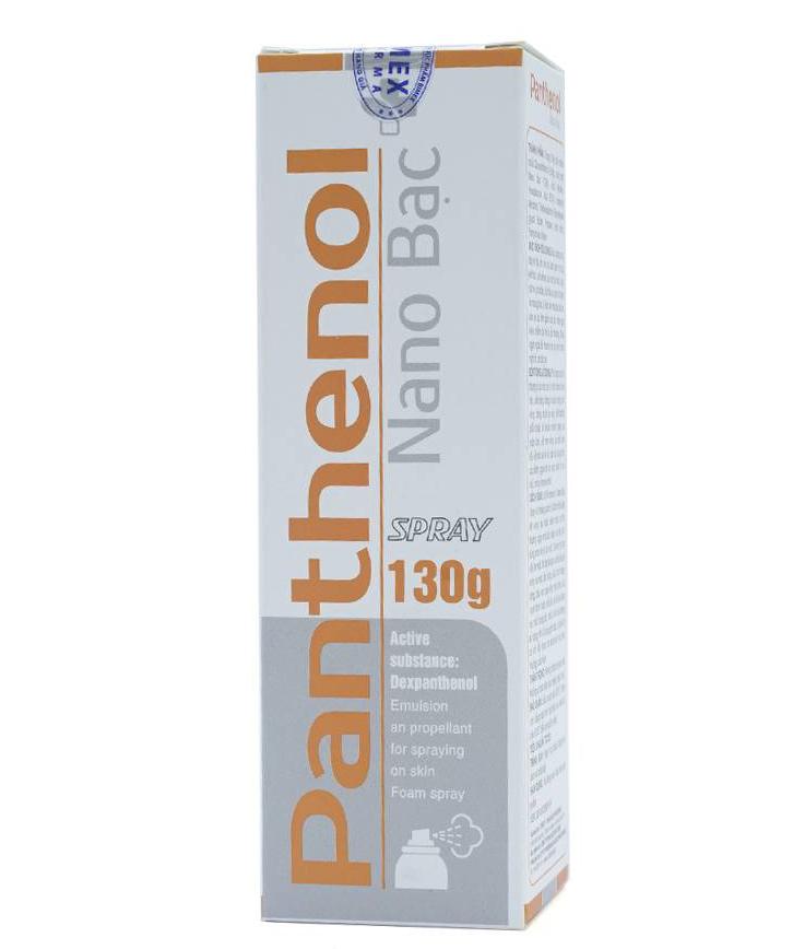 Xịt trị bỏng Panthenol Spray
