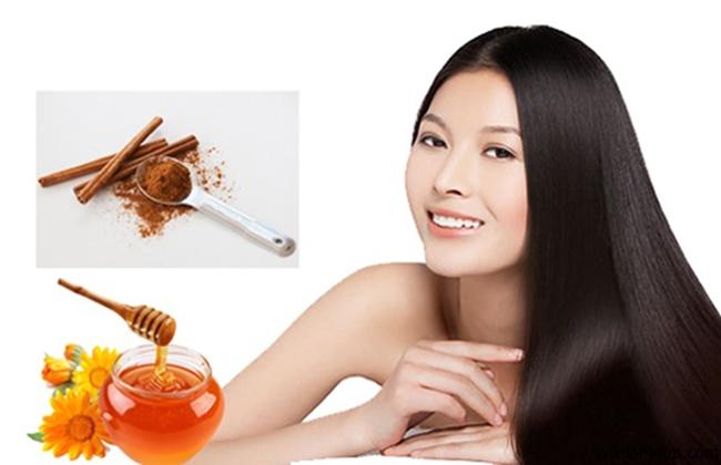 Mật ong giúp tóc khỏe