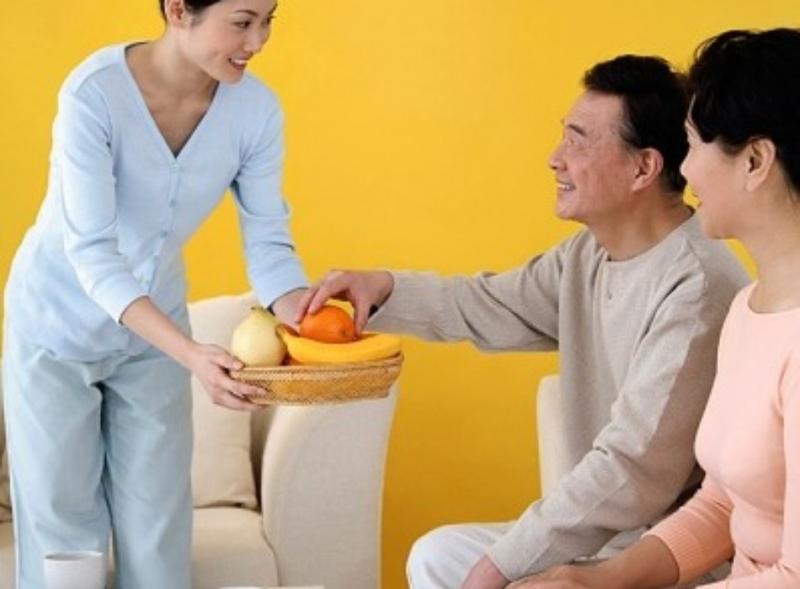 Chăm sóc trẻ, giúp việc nhà  được xem là một biến thể khác của nghề giúp việc tại nhà.
