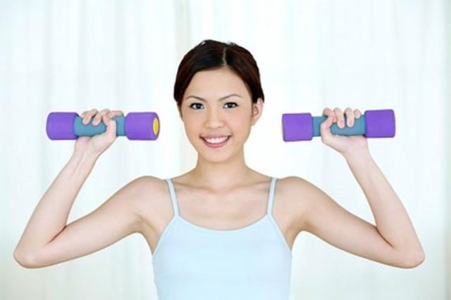 Tập thể dục cho ngực giúp ngực phát triển
