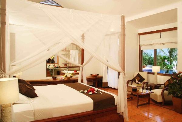 Phòng ngủ đẹp và sang trọng bậc nhất ở resort