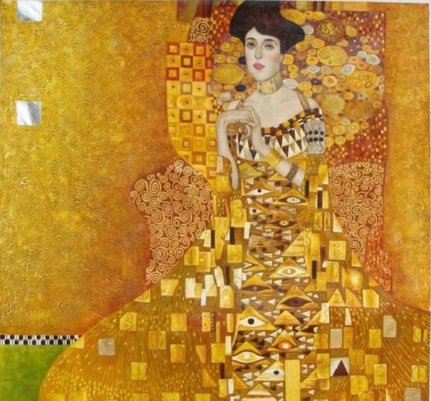Chân dung của Adele Bloch-Bauer I - Gustav Klimt