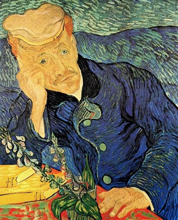 Chân dung của bác sĩ Gachet - Vincent Van Gogh
