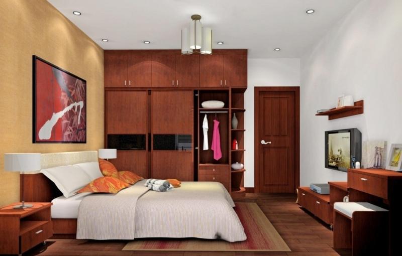 Chân giường hoặc đầu giường không nên đối diện hoặc bị cắt bởi cửa phòng