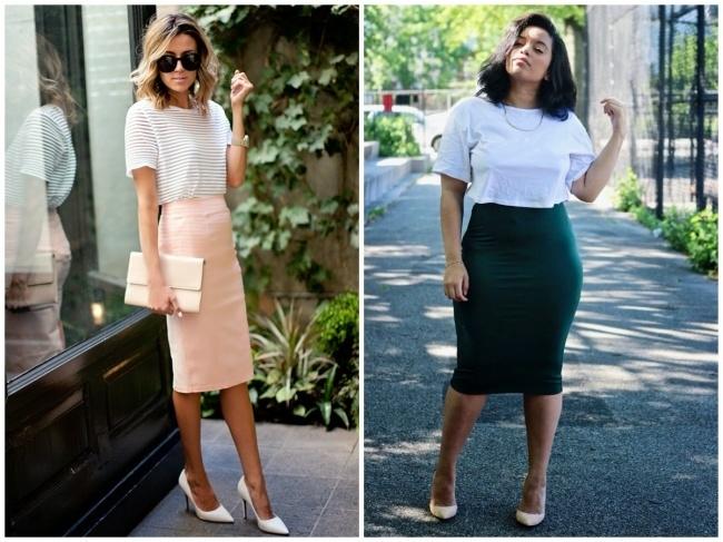 Một chiếc váy bút chì có thể giúp tăng tính lịch sự và nổi bật khi bạn xuất hiện dù bạn có chiều cao và cân nặng như thế nào.