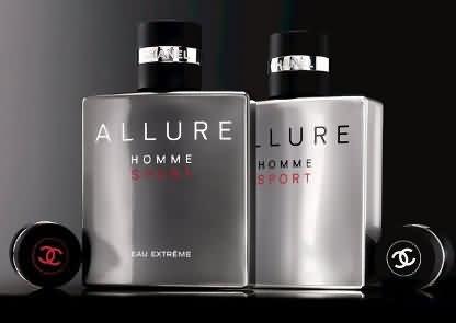 Chanel Allure Homme Sport mạnh mẽ, phong cách