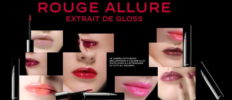 Những sắc màu rực rỡ của như Chanel Rouge Allure Gloss được ví như đóa hoa tươi tắn