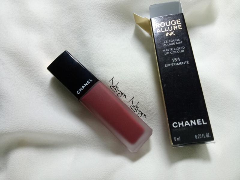Chanel Rouge Allure Ink 154 - Expérimenté