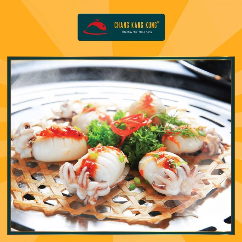 Món hải sản ngon hấp dẫn tại nhà hàng