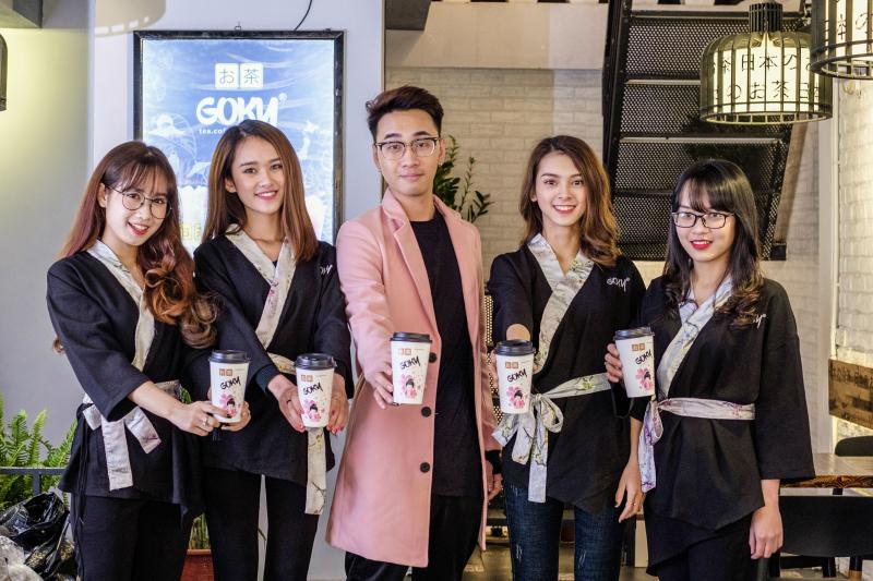 Chàng trai 97 khởi nghiệp thành công với trà sữa goky