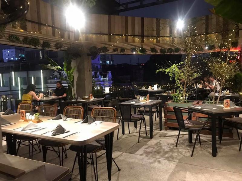 Chanh Bistro Rooftop Saigon