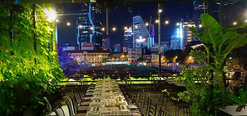 Chanh Bistro Rooftop Saigon - Lý Tự Trọng