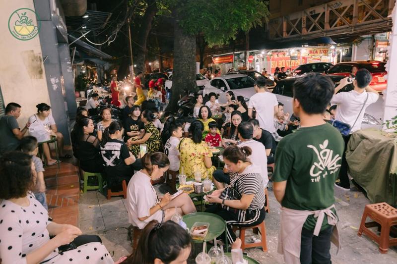 Chanh – Tiệm trà phố Hà Đông