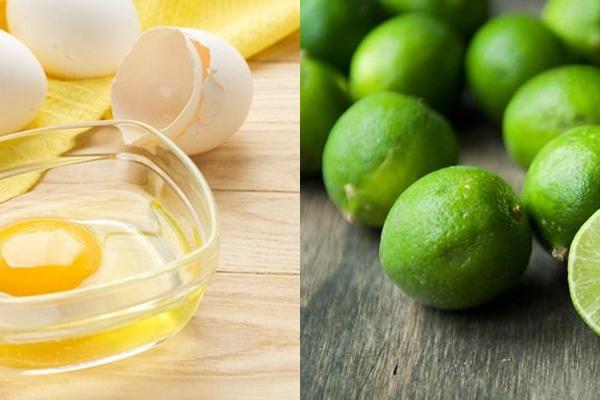 Dân gian gọi hỗn hợp nước ép chanh tươi và lòng trắng trứng là một trong những cách trị vết thâm mụn nhanh và hiệu quả nhất.