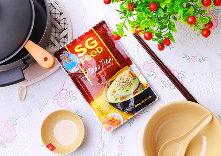 Cháo tươi Baby Saigon Food theo đúng cách mà bạn nấu ăn cho con bạn tại nhà