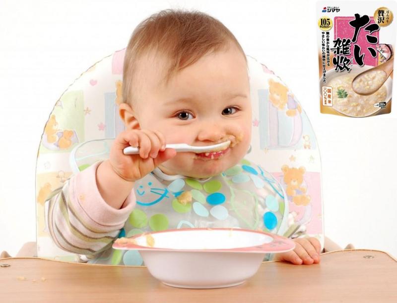 Túi cháo được chế biến cầu kỳ, giúp bé ăn thun thút, ăn được nhiều hơn và quan trọng là thành phần dinh dưỡng được thực hiện cực kỳ nghiêm ngặ
