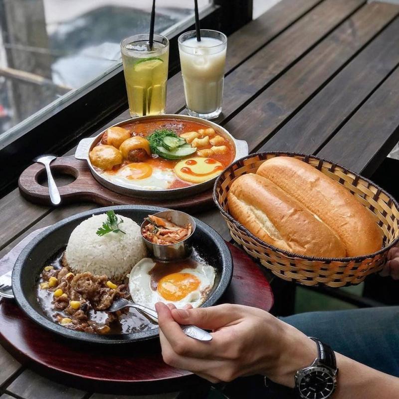 Top 6 Quán bánh mỳ chảo ngon nhất quận Hai Bà Trưng, Hà Nội