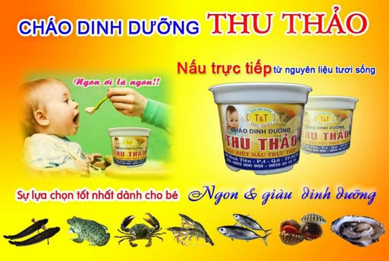 Cháo dinh dưỡng Thu Thảo