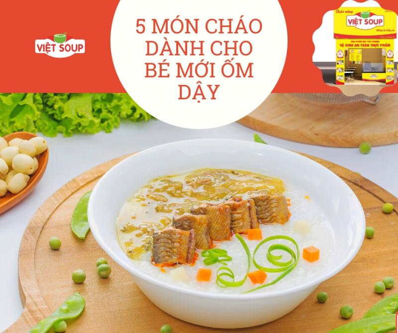 Cháo dinh dưỡng Việt Soup