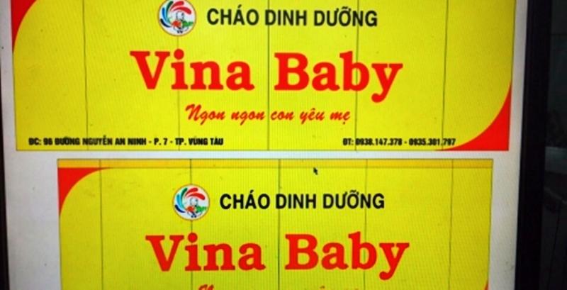 Cháo dinh dưỡng Vina Baby