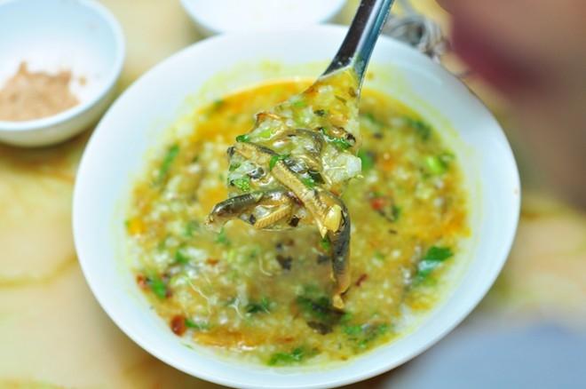 Cháo lươn món ăn tự hào của người dân xứ Nghệ
