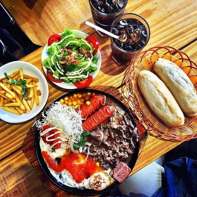 Một phần 2 người ăn tại Chảo