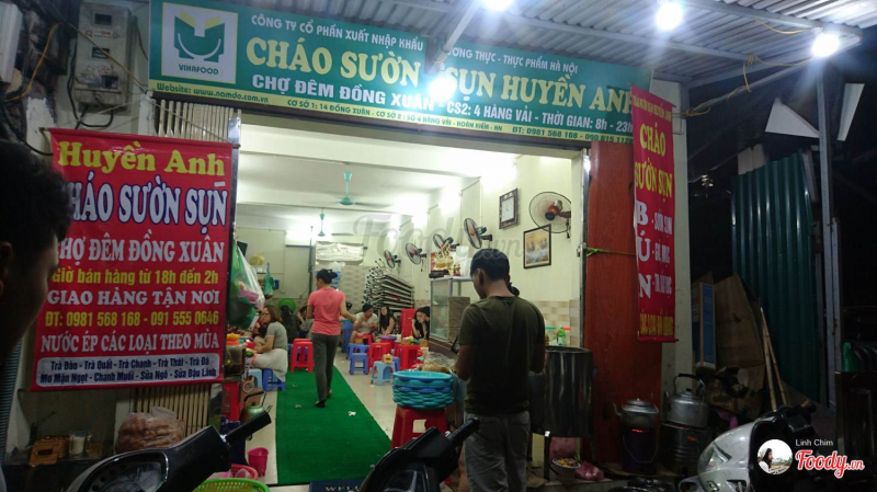 Cháo Sườn Huyền Anh - Đồng Xuân