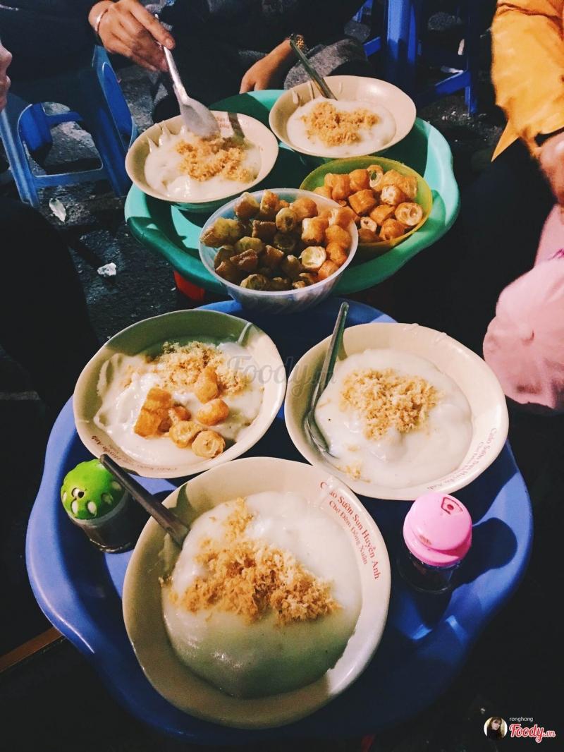 Món cháo sườn sụn đã trở thành món ăn yêu thích của rất nhiều người