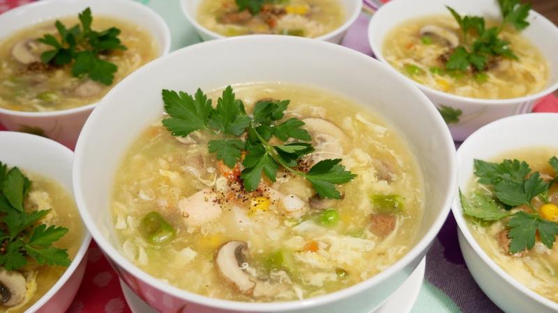 Cháo súp Hoàng Khánh