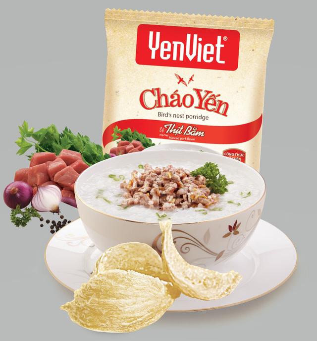 Cháo Yến Vị thịt bằm Yến Việt 50g