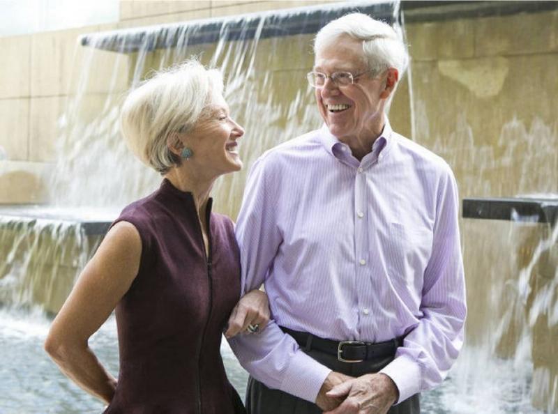 Charles và Elizabeth Koch