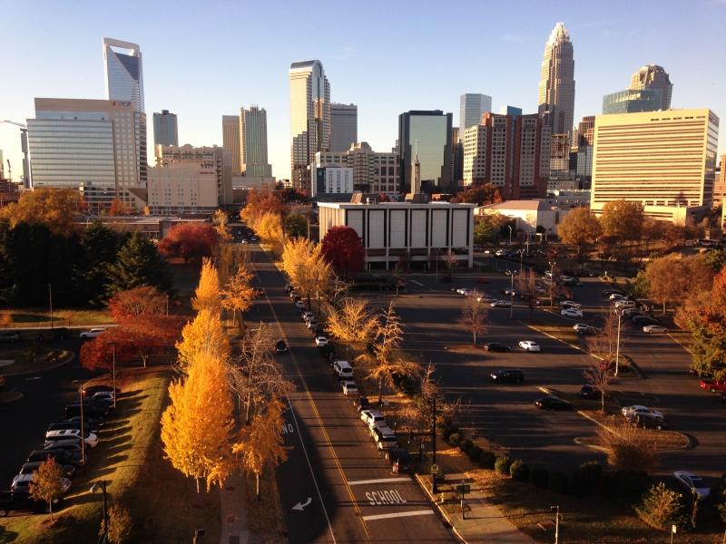 Charlotte là trung tâm tài chính lớn thứ 2 của nước Mỹ