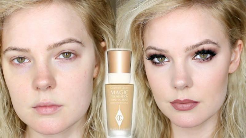 Đối với làn da hơi dầu khi dùng Charlotte Tilbury Magic Foundation vẫn cảm thấy dễ chịu, khô thoáng không bứt bí, không bị bít lỗ chân lông.