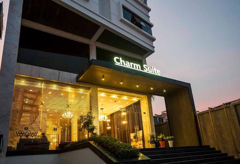 Không gian bên ngoài tại Charm Suite Residence Saigon